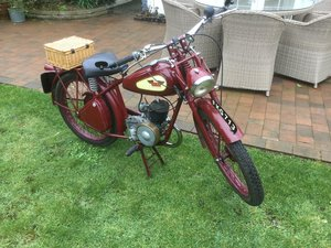 Picture of 1951 James Comet deluxe 98cc