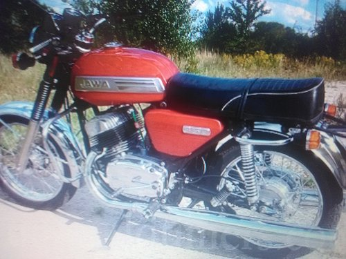 1964 jawa 634 classic bike reg 1975 rome For Sale (picture 2 of 2)