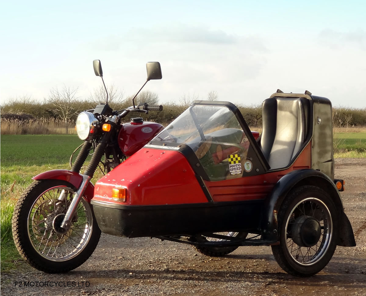 2014 Jawa 350 2-stroke with sidecar, Moted and ready to ride SOLD (picture 2 of 6)