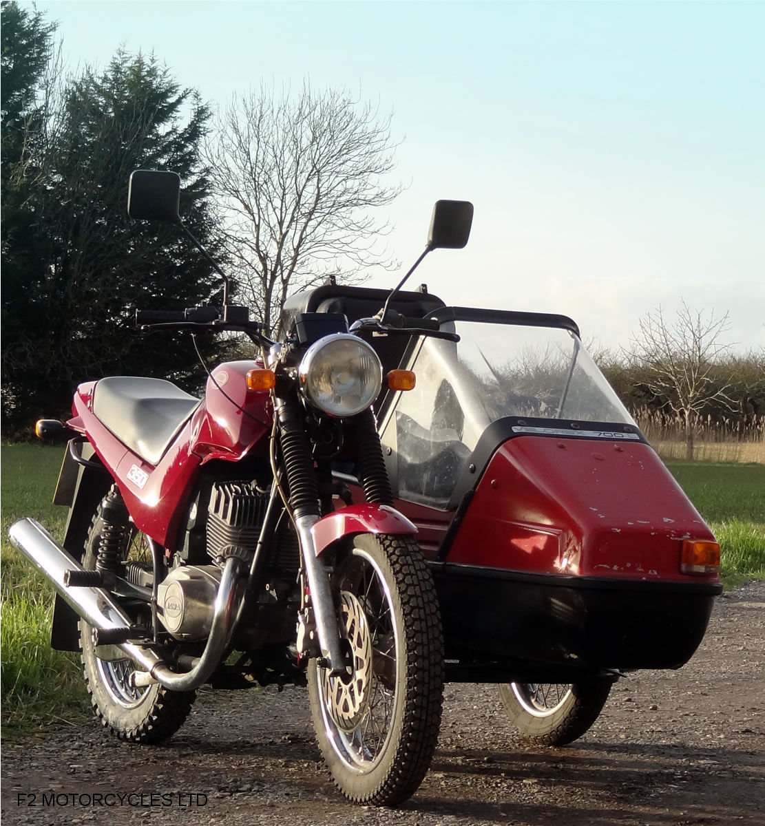 2014 Jawa 350 2-stroke with sidecar, Moted and ready to ride SOLD (picture 3 of 6)