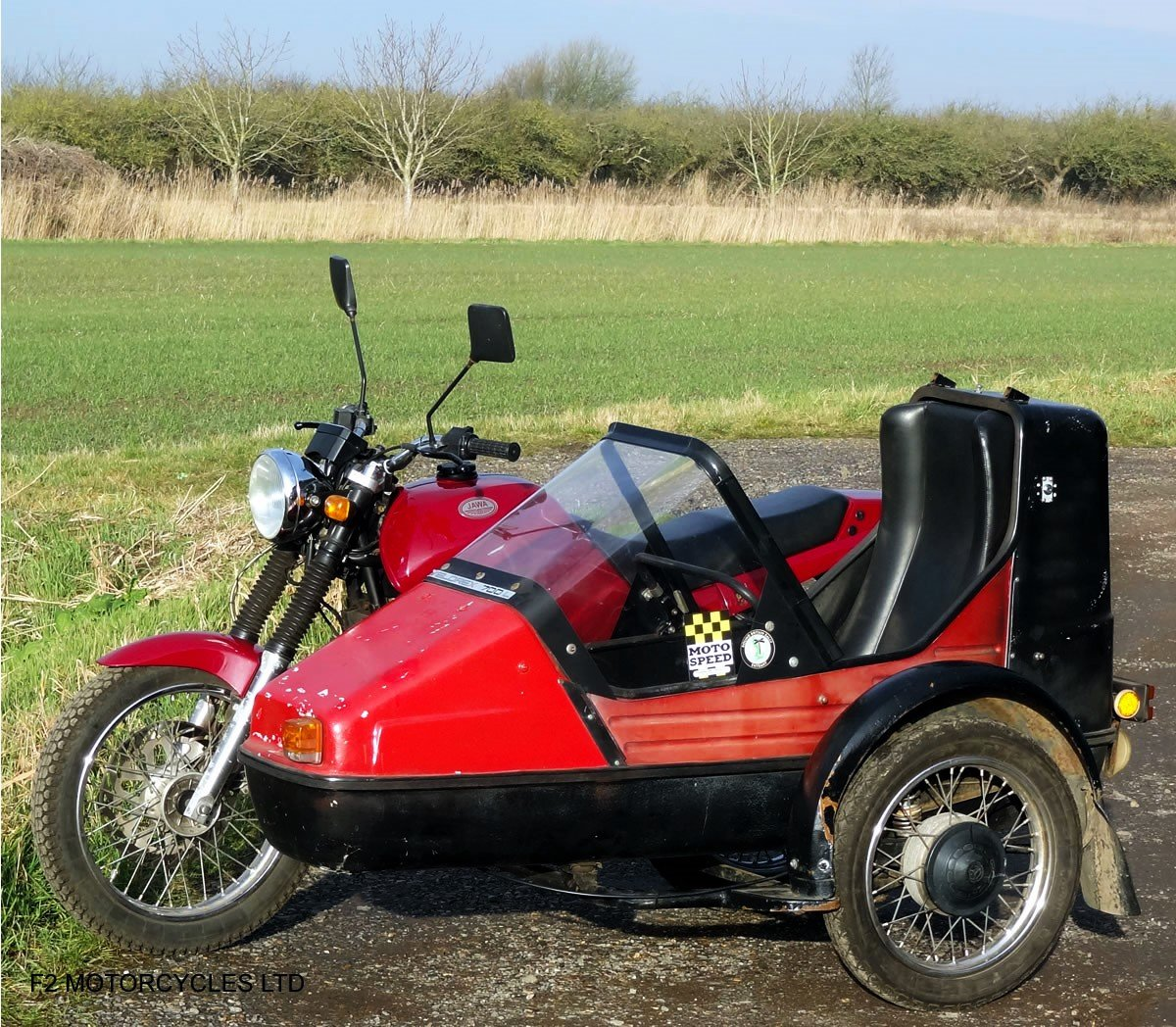 2014 Jawa 350 2-stroke with sidecar, Moted and ready to ride SOLD (picture 4 of 6)