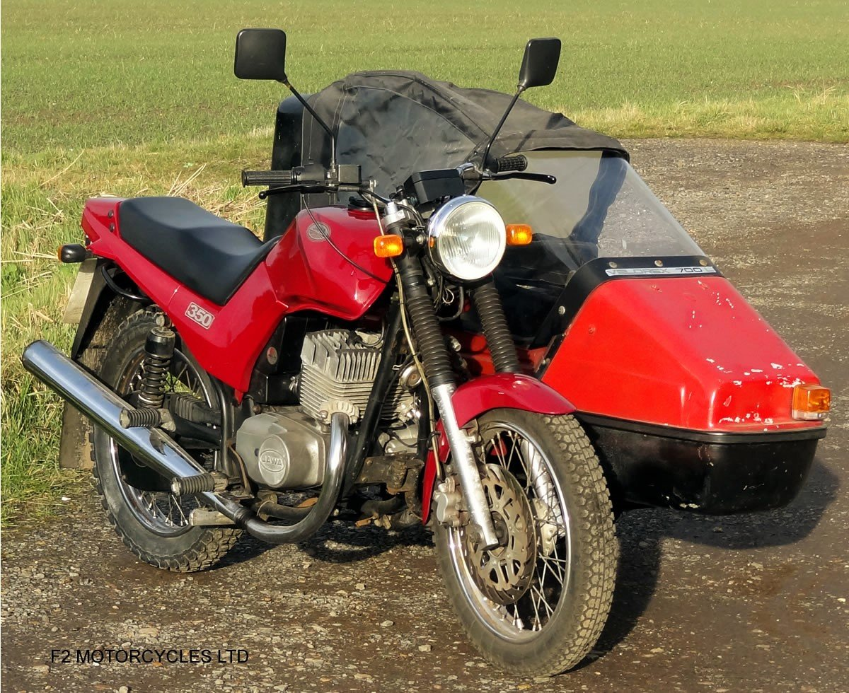 2014 Jawa 350 2-stroke with sidecar, Moted and ready to ride SOLD (picture 6 of 6)