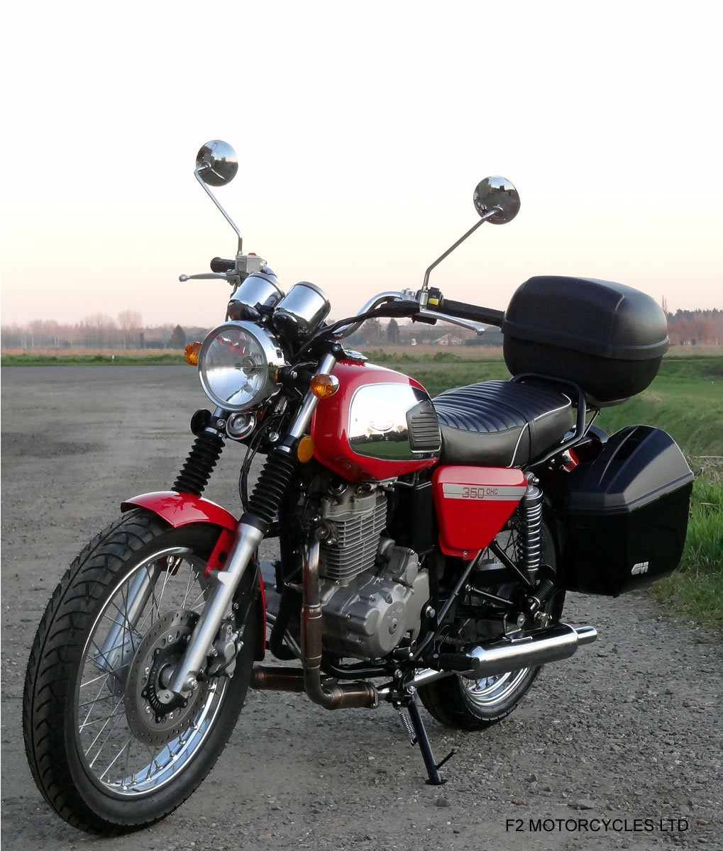 2018 Jawa 350 OHC, One owner, near perfect, ready to ride SOLD (picture 5 of 6)