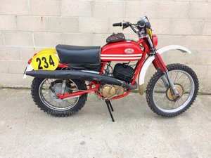 1975 Jawa 653 type 350cc ISTD Enduro Machine