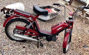 1987 Jawa moped ~ never registered ~ 141 miles.