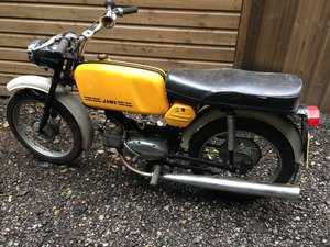1979 Jawa Mustang 1970s sports moped. For Sale