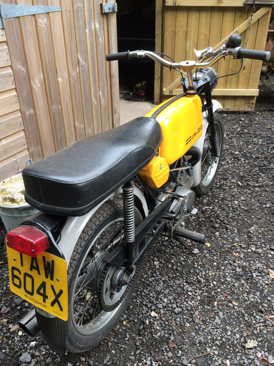 1979 Jawa Mustang 1970s sports moped. For Sale (picture 4 of 5)