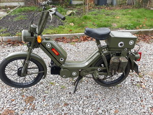 1989 JAWA MILITARY MOPED