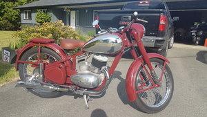 1953 Jawa Perak 250 Complete correct restoration