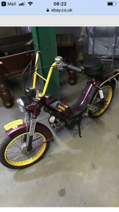 JAWA Lambada 50cc ~14 miles ~ Haulage included