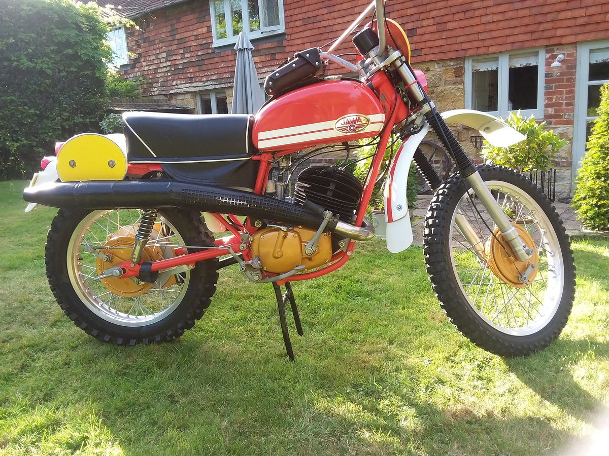 1975 Jawa works isdt SOLD (picture 1 of 6)