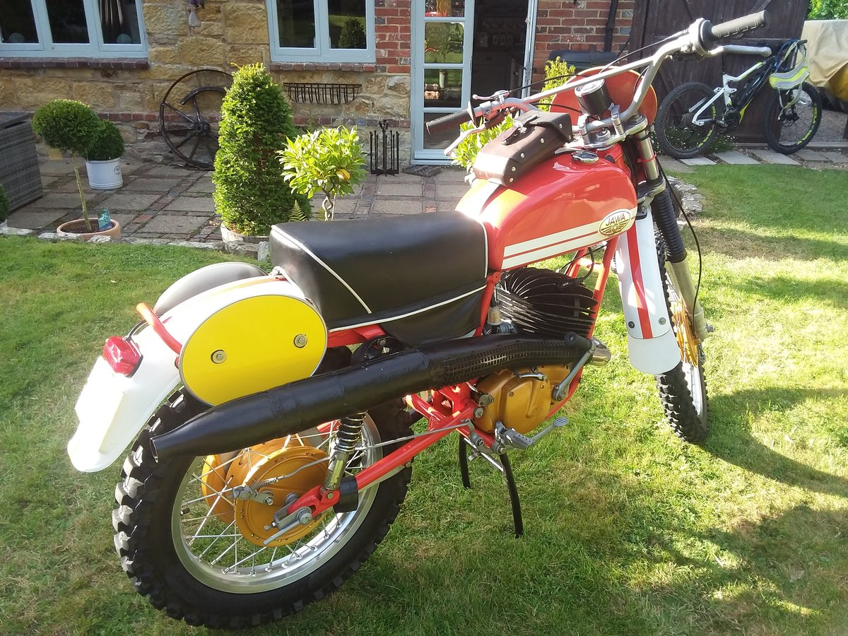 1975 Jawa works isdt SOLD (picture 2 of 6)