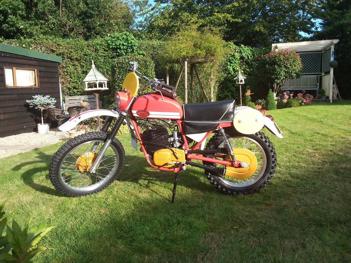 1975 Jawa works isdt SOLD (picture 3 of 6)