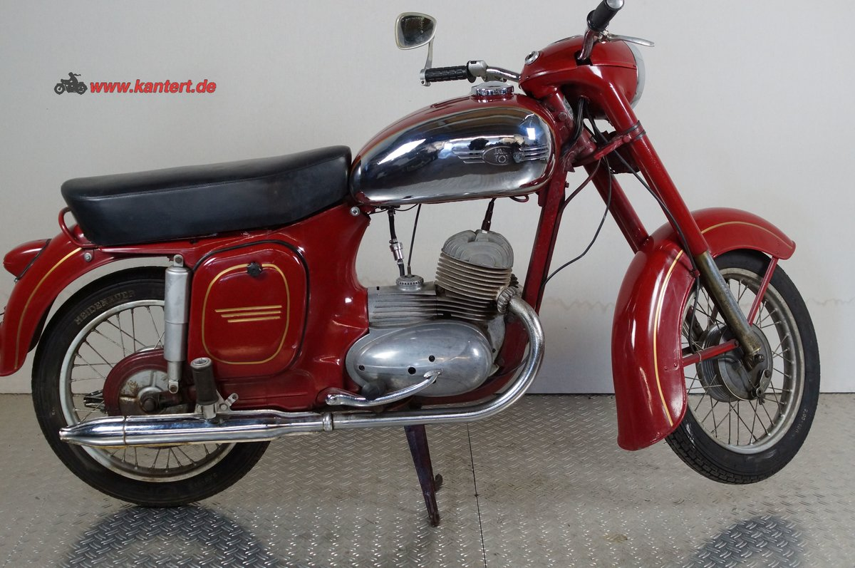 1959 Jawa 125, 125 cc, 7 hp For Sale (picture 1 of 6)
