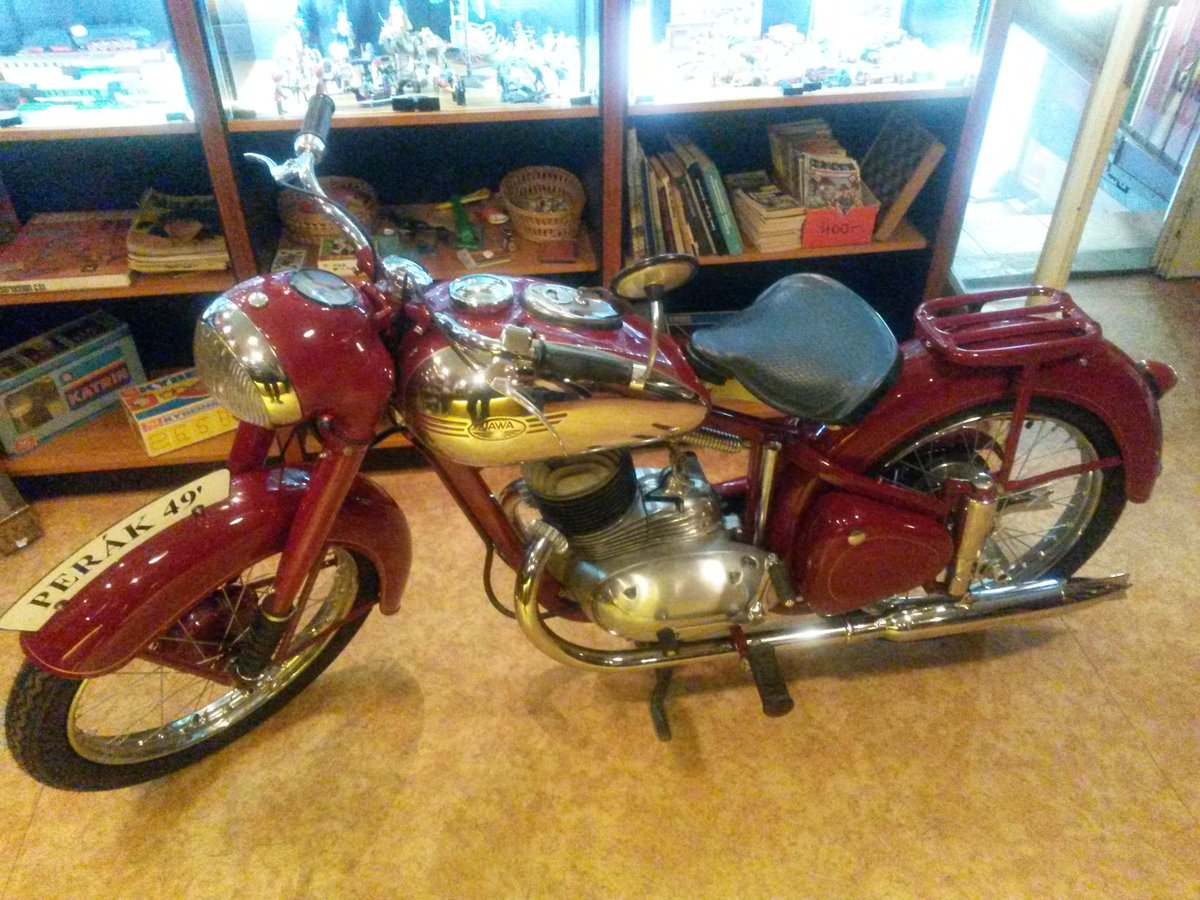 1949 Jawa 250 Pérak restored For Sale (picture 1 of 6)