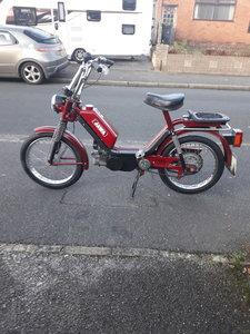 1991 Jawa 49cc pedal and pop moped