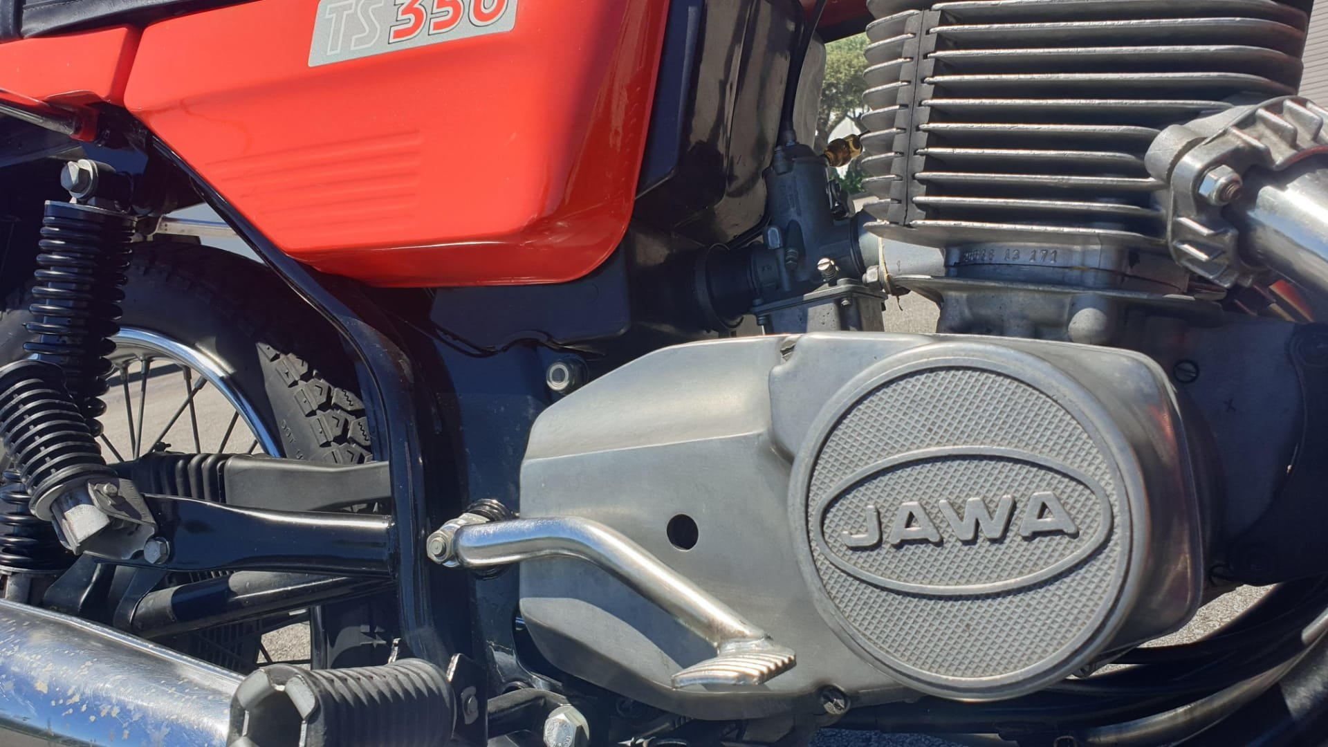 Jawa Twin Sport 350 - 1991 For Sale (picture 4 of 6)