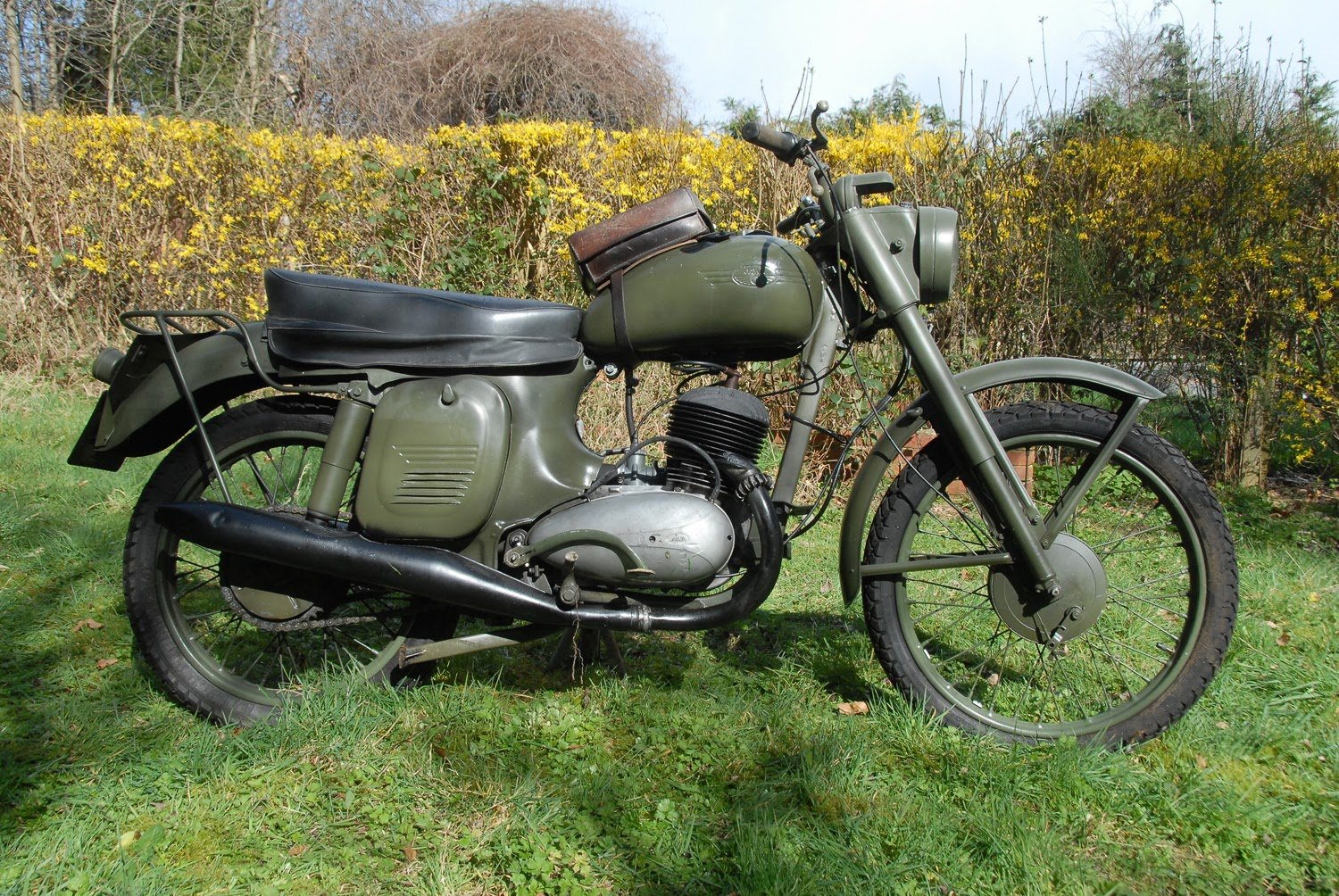 1963 Jawa 350. ISDT ex Swedish  army SOLD (picture 1 of 1)
