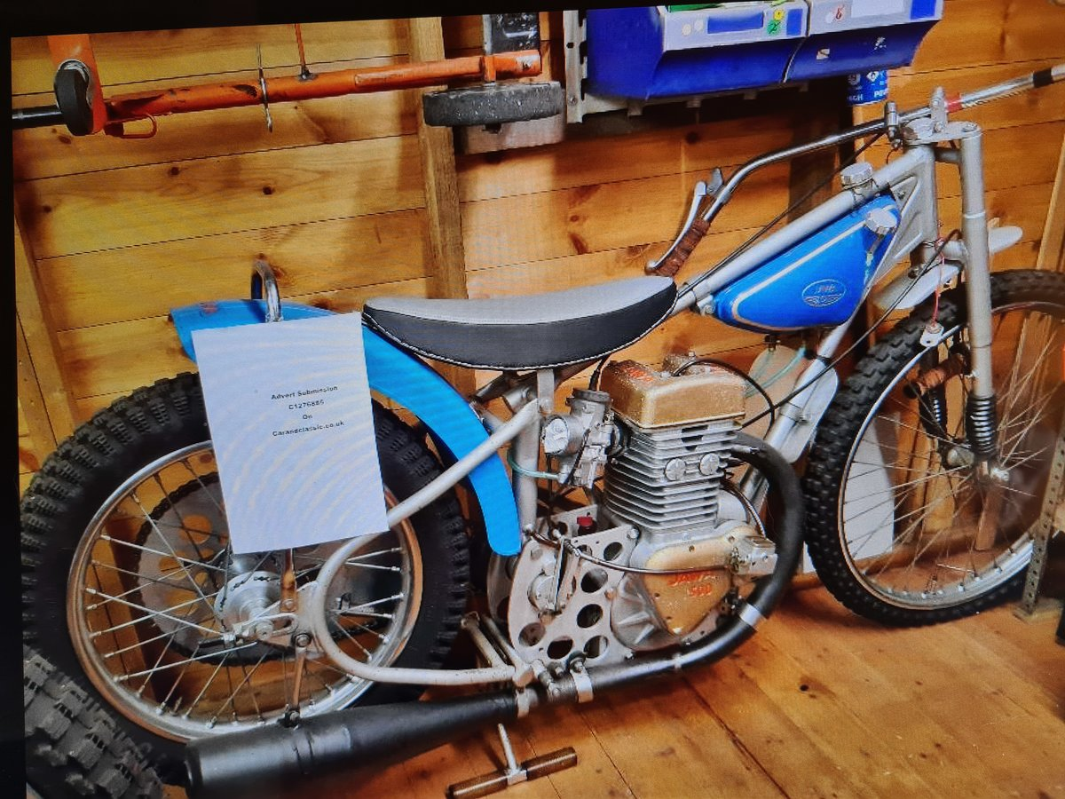 1975 Classic Speedway Motorcycle SOLD (picture 2 of 2)