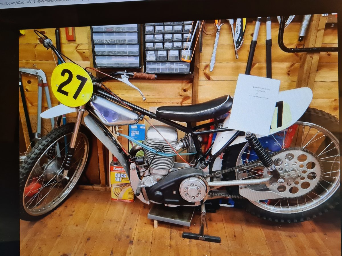 1970 Grass/Longtrack Motorcycle. For Sale (picture 2 of 6)