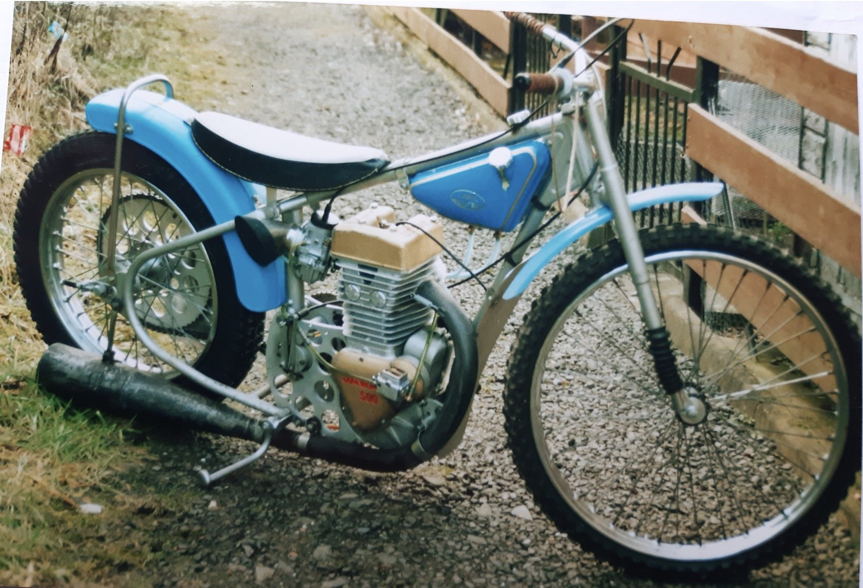 1975 Classic Speedway Motorcycle SOLD (picture 1 of 2)