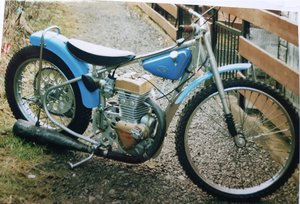 Classic Speedway Motorcycle