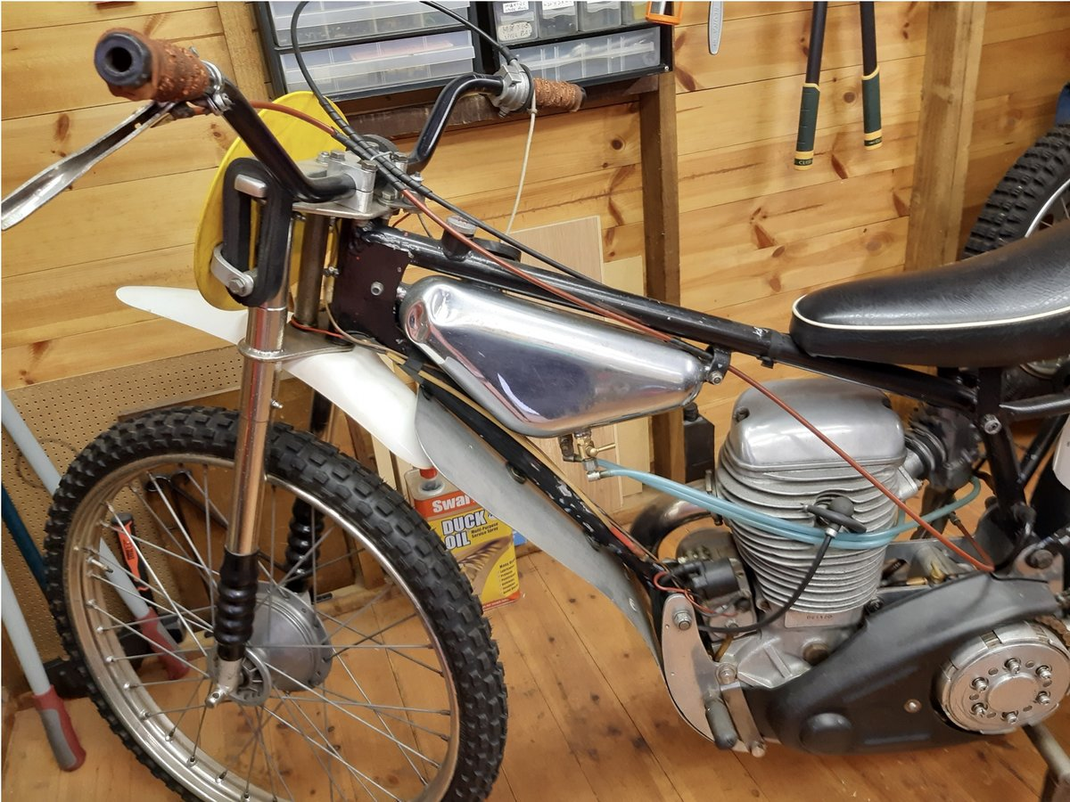1970 Grass/Longtrack Motorcycle. For Sale (picture 3 of 6)