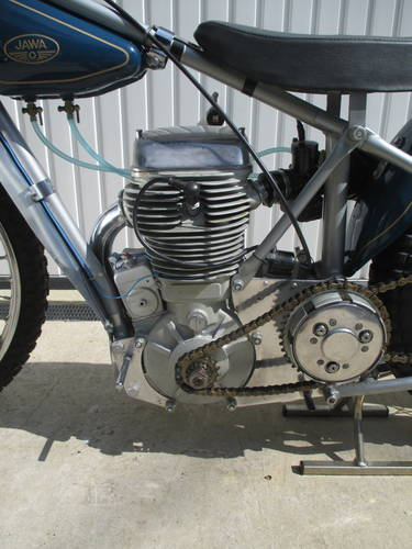 Restored 2v Jawa 890 Speedway Bike, 1973, 500cc For Sale (picture 4 of 5)