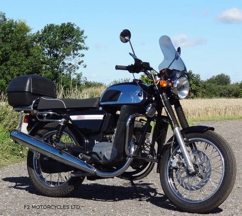 2015 Jawa 350 Retro, low mileage, electric start, ready to ride SOLD (picture 1 of 6)