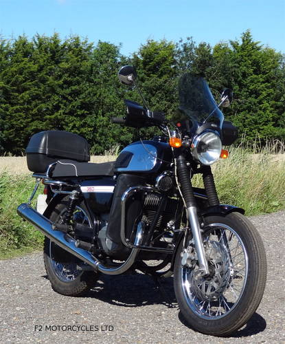 2015 Jawa 350 Retro, low mileage, electric start, ready to ride SOLD (picture 5 of 6)