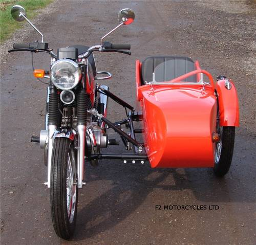 2013 Jawa 350 and Sidecar, electric start, very low mileage.  SOLD (picture 4 of 6)