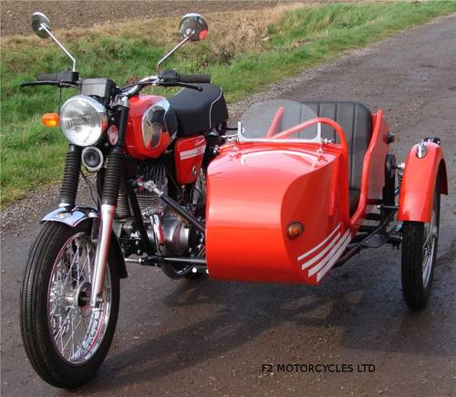 2013 Jawa 350 and Sidecar, electric start, very low mileage.  SOLD (picture 5 of 6)