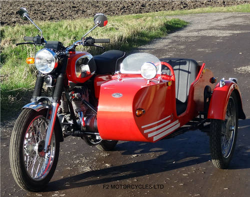 2013 Jawa Retro 350 and Sidecar SOLD (picture 2 of 6)