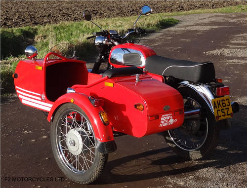 2013 Jawa Retro 350 and Sidecar SOLD (picture 4 of 6)