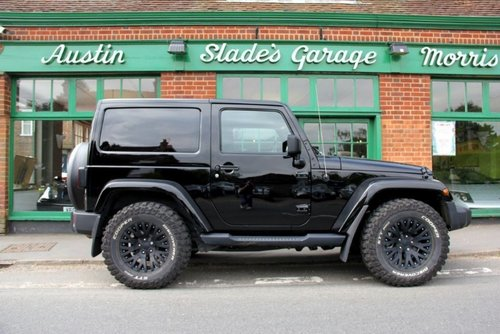 2017 Jeep Wrangler CRD Overland Chelses Truck Co  SOLD (picture 1 of 4)