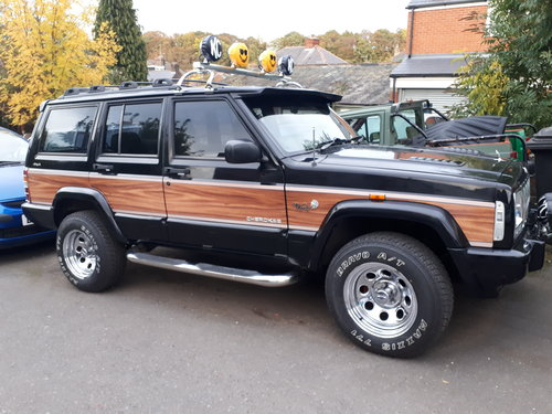 1999 jeep cherokee 'woody' orvis 4.0 auto retro For Sale (picture 3 of 6)