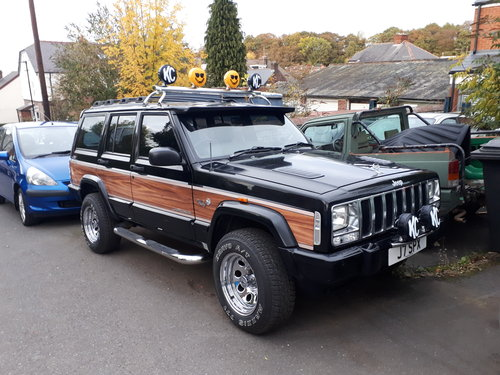 1999 jeep cherokee 'woody' orvis 4.0 auto retro For Sale (picture 4 of 6)