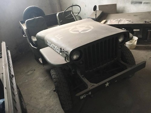 Jeep MB 1942 ( soviet Army) For Sale (picture 1 of 3)