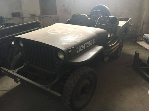 Jeep MB 1942 ( soviet Army) For Sale (picture 2 of 3)