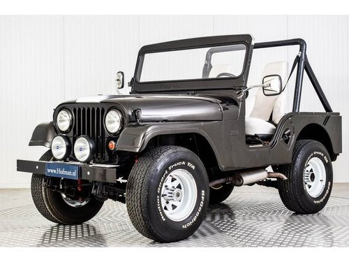 1969 Jeep CJ-5 4X4 Kaiser For Sale (picture 1 of 6)