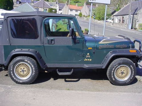 1994 Jeep Wrnagler 4.0 Limited Edition For Sale (picture 3 of 6)