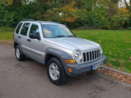 2005/55 Jeep Cherokee 2.4 Sport.. 4x4.. Winter Bargain. SOLD (picture 1 of 6)