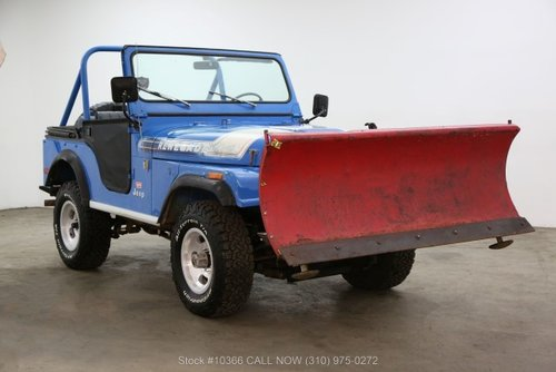 1976 Jeep CJ5 Levis Edition With V8 For Sale (picture 1 of 6)