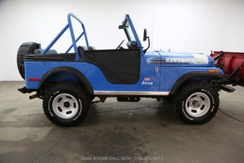 1976 Jeep CJ5 Levis Edition With V8 For Sale (picture 2 of 6)