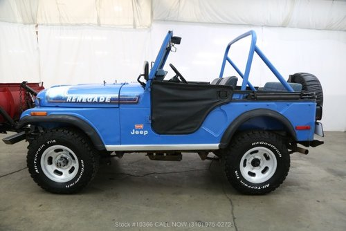 1976 Jeep CJ5 Levis Edition With V8 For Sale (picture 3 of 6)