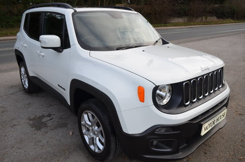 Jeep Renegade 2.0 Multijet Longitude 4WD 2017 For Sale (picture 1 of 6)