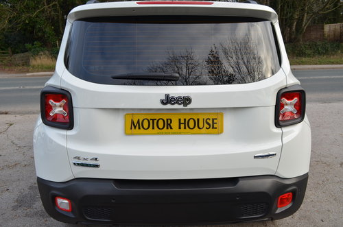 Jeep Renegade 2.0 Multijet Longitude 4WD 2017 For Sale (picture 2 of 6)