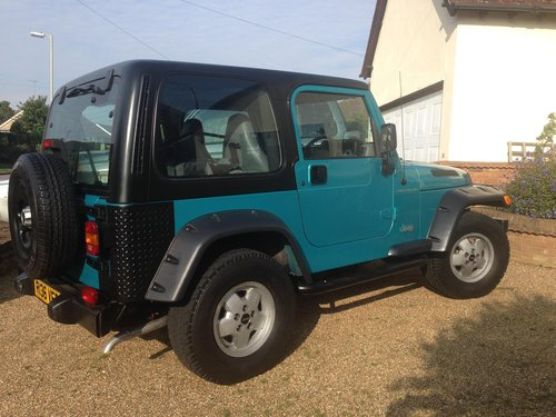 1997 Jeep Wrangler For Sale (picture 2 of 6)