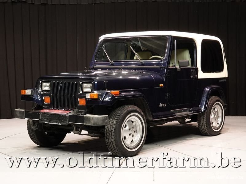 1990 Jeep Wrangler 4x4 Laredo 2-seater '90 For Sale (picture 1 of 6)