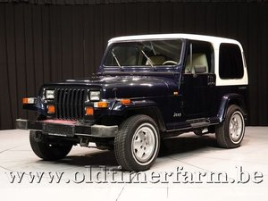 1990 Jeep Wrangler 4x4 Laredo 2-seater '90 For Sale